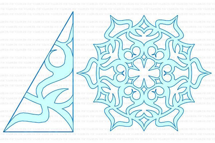 Красивые оригинальные снежинки на Новый год: создаем своими руками, шаблоны с фото snezhinki iz bumagi svoimi rukami 99