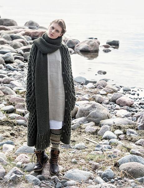 Женские кардиганы спицами: вяжем красивые и модные вещи своими руками vyazanyj spicami kardigan 1