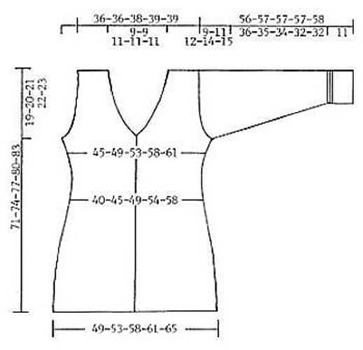 Женские кардиганы спицами: вяжем красивые и модные вещи своими руками vyazanyj spicami kardigan 12