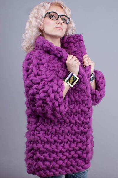 Женские кардиганы спицами: вяжем красивые и модные вещи своими руками vyazanyj spicami kardigan 19