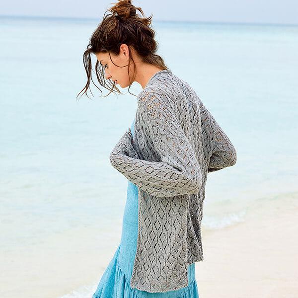 Женские кардиганы спицами: вяжем красивые и модные вещи своими руками vyazanyj spicami kardigan 22
