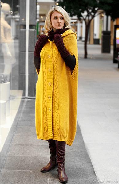Женские кардиганы спицами: вяжем красивые и модные вещи своими руками vyazanyj spicami kardigan 3