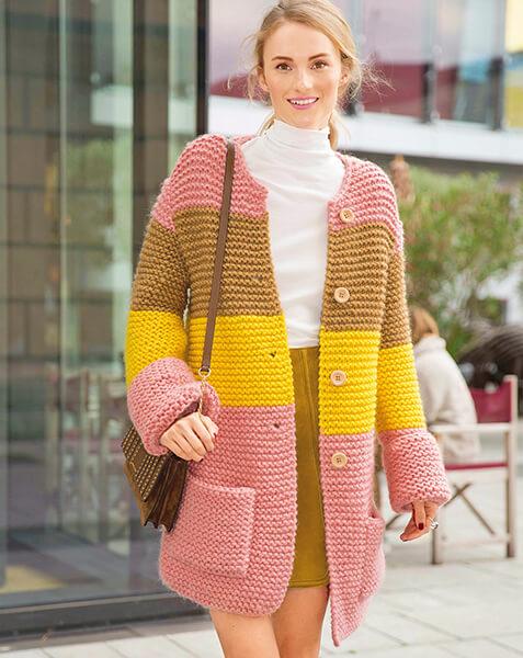 Женские кардиганы спицами: вяжем красивые и модные вещи своими руками vyazanyj spicami kardigan 4
