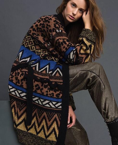Женские кардиганы спицами: вяжем красивые и модные вещи своими руками vyazanyj spicami kardigan 6