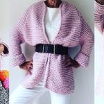Женские кардиганы спицами: вяжем красивые и модные вещи своими руками