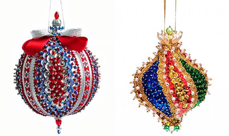 Елочные игрушки на елку своими руками: что можно сделать на Новый год 17 18