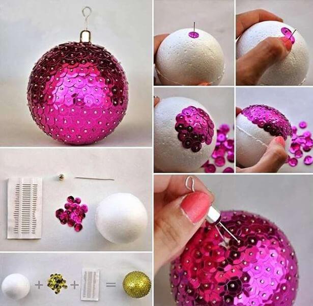 Елочные игрушки на елку своими руками: что можно сделать на Новый год elochnaya igrushka svoimi rukami 15