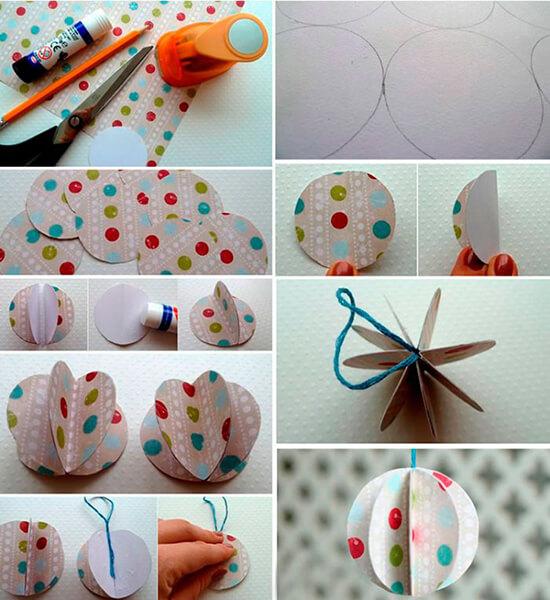Елочные игрушки на елку своими руками: что можно сделать на Новый год elochnaya igrushka svoimi rukami 32