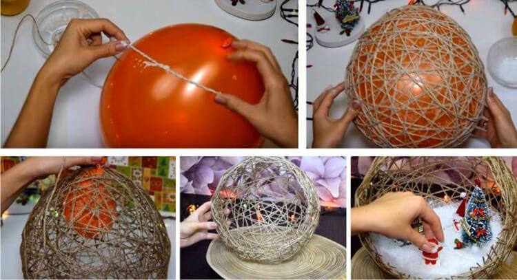 Елочные игрушки на елку своими руками: что можно сделать на Новый год elochnaya igrushka svoimi rukami 6