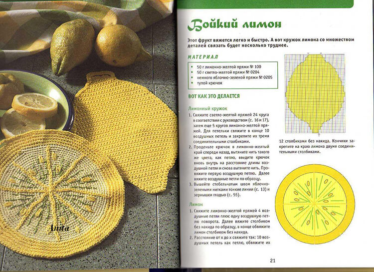 Простые салфетки крючком   пошаговые описания со схемами kryuchkom salfetki 30