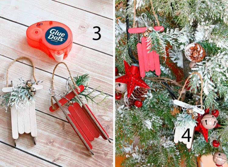 Поделки на Новый год из различных материалов: самое интересное с фото, с пошаговым описанием ng podelki 10