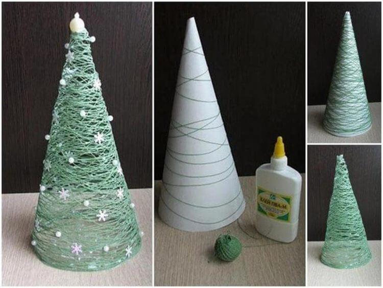 Поделки на Новый год из различных материалов: самое интересное с фото, с пошаговым описанием ng podelki 21