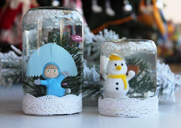 Поделки на Новый год из различных материалов: самое интересное с фото, с пошаговым описанием ng podelki 5