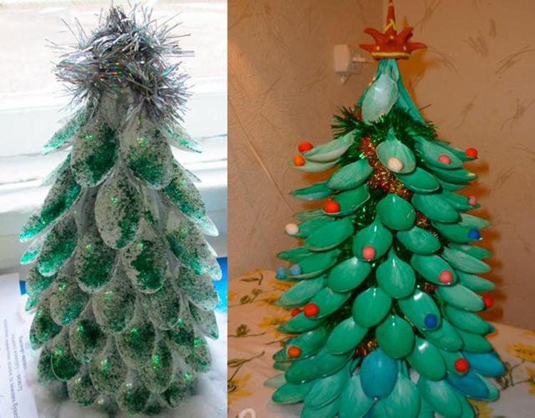Поделки на Новый год из различных материалов: самое интересное с фото, с пошаговым описанием ng podelki 55