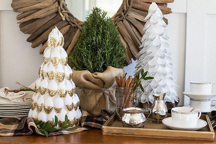 Поделки на Новый год из различных материалов: самое интересное с фото, с пошаговым описанием ng podelki 56