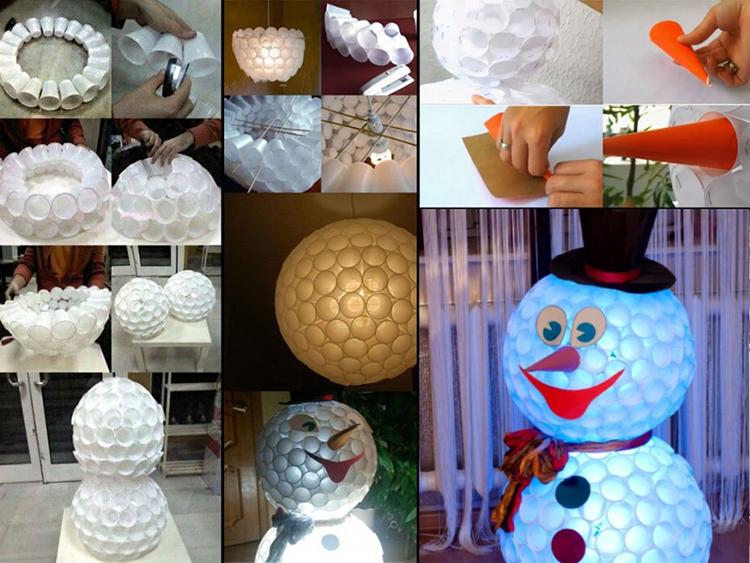 Поделки на Новый год из различных материалов: самое интересное с фото, с пошаговым описанием ng podelki 60