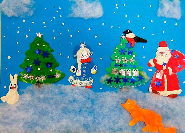 Поделки на Новый год из различных материалов: самое интересное с фото, с пошаговым описанием ng podelki 93