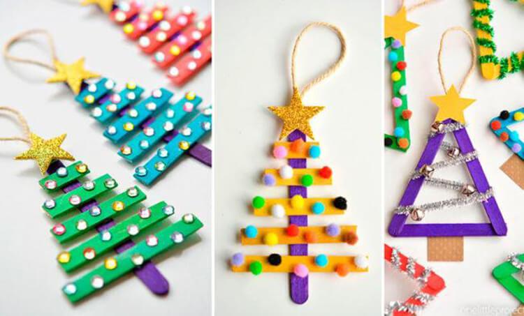 Поделки на Новый год своими руками: делаем на конкурс школу и садик podelki k novomu godu 117