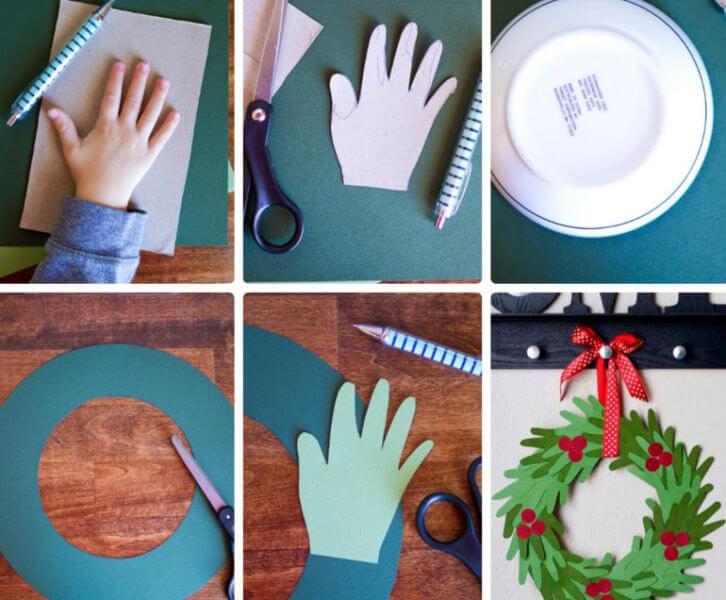 Поделки на Новый год своими руками: делаем на конкурс школу и садик podelki k novomu godu 128