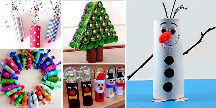 Поделки на Новый год своими руками: делаем на конкурс школу и садик podelki k novomu godu 136