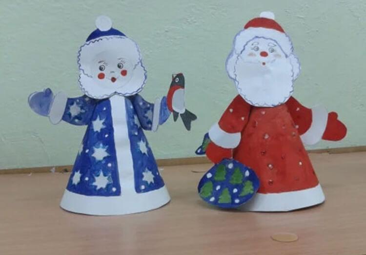 Поделки на Новый год своими руками: делаем на конкурс школу и садик podelki k novomu godu 143