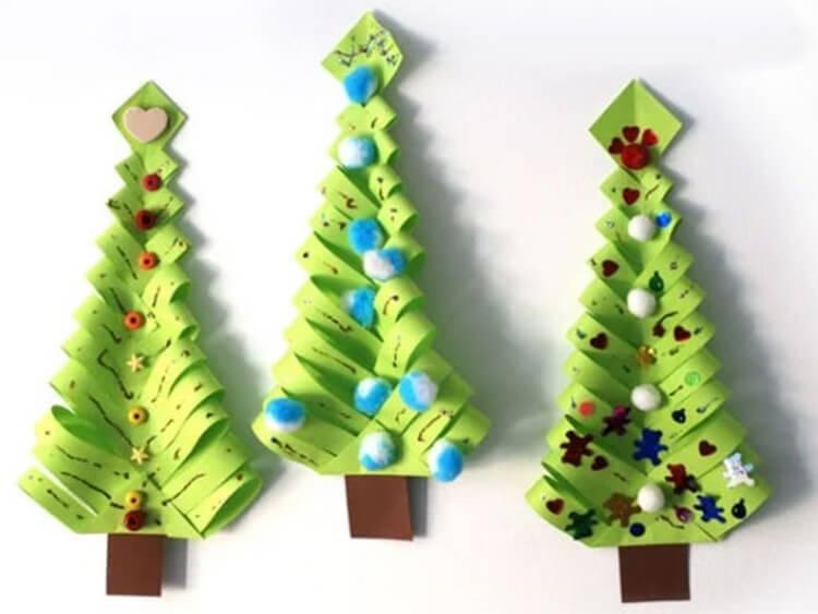 Поделки на Новый год своими руками: делаем на конкурс школу и садик podelki k novomu godu 144