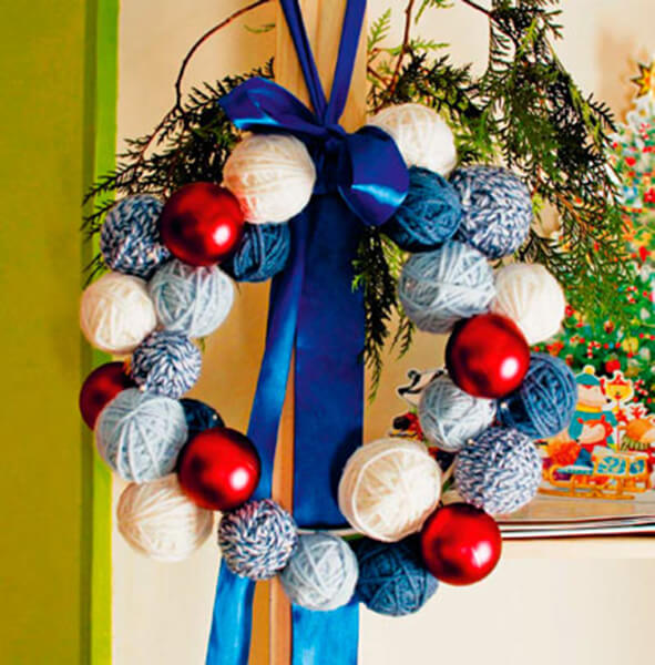 Поделки на Новый год своими руками: делаем на конкурс школу и садик podelki k novomu godu 15
