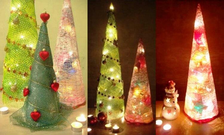 Поделки на Новый год своими руками: делаем на конкурс школу и садик podelki k novomu godu 4