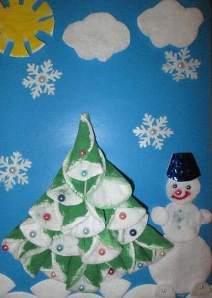Поделки на Новый год своими руками: делаем на конкурс школу и садик podelki k novomu godu 71