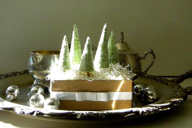 Поделки на Новый год своими руками: делаем на конкурс школу и садик podelki k novomu godu 76