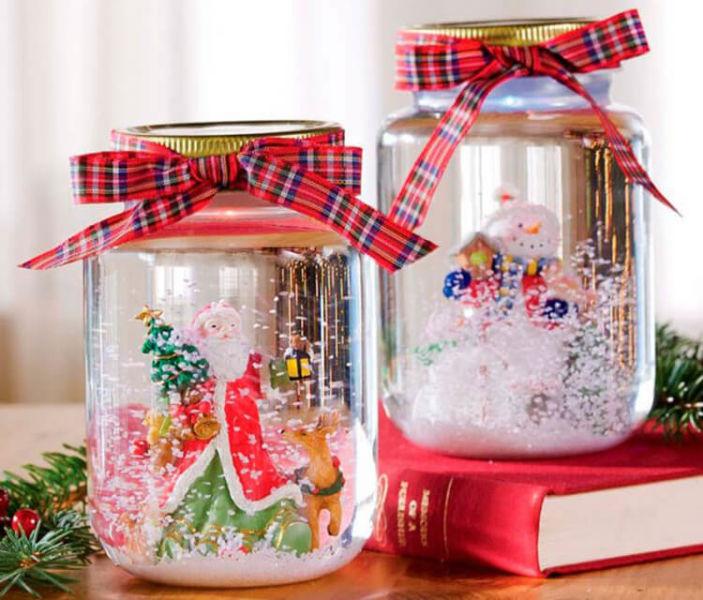 Поделки на Новый год своими руками: делаем на конкурс школу и садик podelki k novomu godu 8