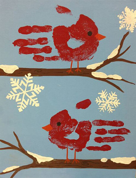 Рисунки на тему зима: что можно нарисовать красками и карандашом risunki na temu zima detskie 10