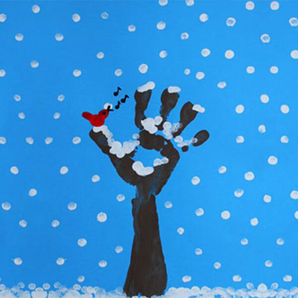 Рисунки на тему зима: что можно нарисовать красками и карандашом risunki na temu zima detskie 11