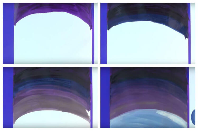 Рисунки на тему зима: что можно нарисовать красками и карандашом risunki na temu zima detskie 115