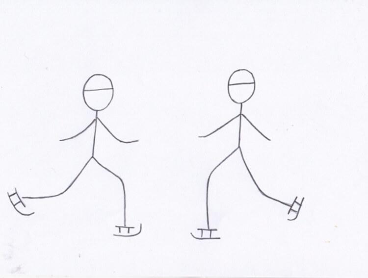 Рисунки на тему зима: что можно нарисовать красками и карандашом risunki na temu zima detskie 32
