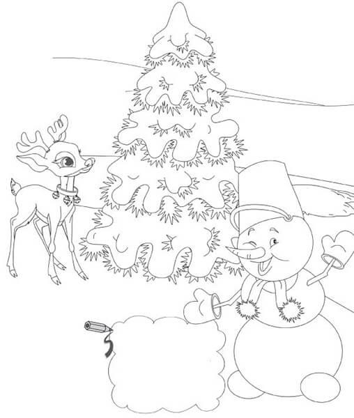 Рисунки на тему зима: что можно нарисовать красками и карандашом risunki na temu zima detskie 45