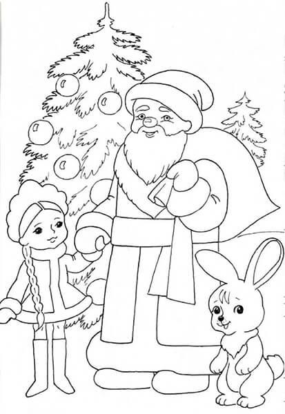 Рисунки на тему зима: что можно нарисовать красками и карандашом risunki na temu zima detskie 46