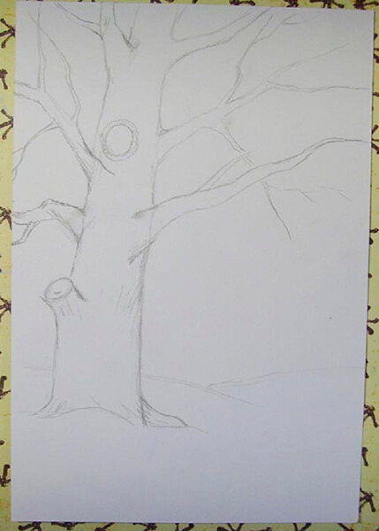 Рисунки на тему зима: что можно нарисовать красками и карандашом risunki na temu zima detskie 56