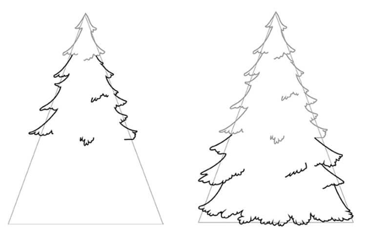 Рисунки на тему зима: что можно нарисовать красками и карандашом risunki na temu zima detskie 77