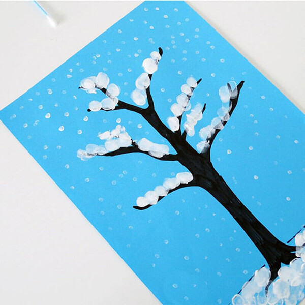 Рисунки на тему зима: что можно нарисовать красками и карандашом risunki na temu zima detskie 8