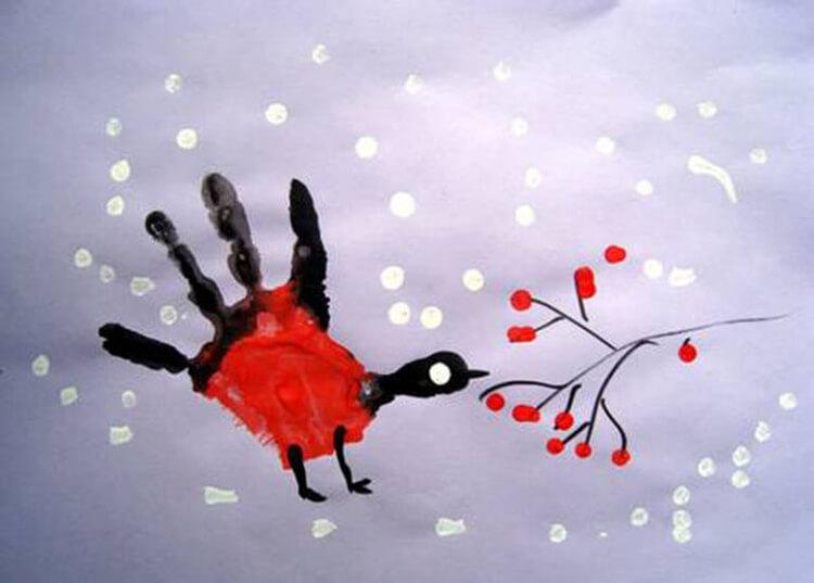 Рисунки на тему зима: что можно нарисовать красками и карандашом risunki na temu zima detskie 9
