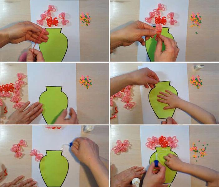 Открытки для любимых мам и бабушек своими руками: мастер классы с фото и описанием 110 115