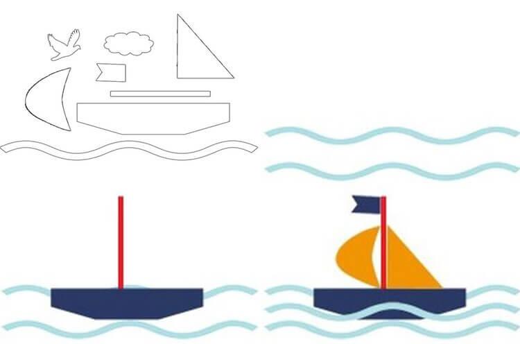Кораблик для детей: различные способы создания со схемами и описанием 32 35