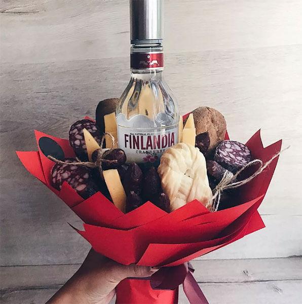 Букет для мужчины на 23 февраля: оригинальный подарок своими руками buket dlya muzhchiny svoimi rukami 111