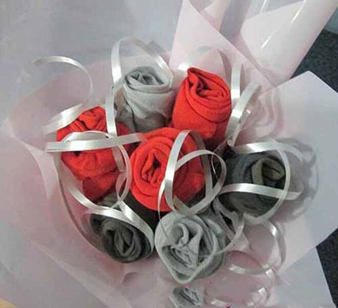 Букет для мужчины на 23 февраля: оригинальный подарок своими руками buket dlya muzhchiny svoimi rukami 14