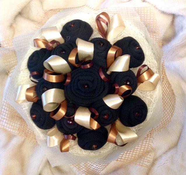 Букет для мужчины на 23 февраля: оригинальный подарок своими руками buket dlya muzhchiny svoimi rukami 16