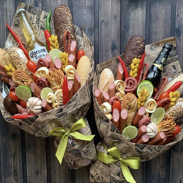 Букет для мужчины на 23 февраля: оригинальный подарок своими руками buket dlya muzhchiny svoimi rukami 28