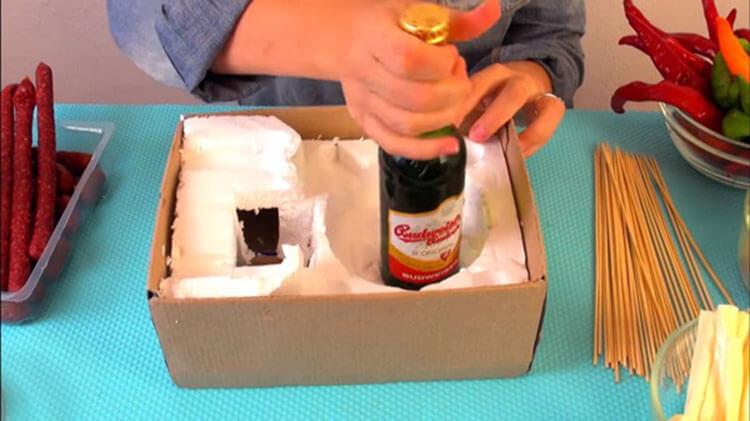 Букет для мужчины на 23 февраля: оригинальный подарок своими руками buket dlya muzhchiny svoimi rukami 61
