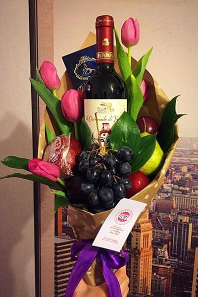 Букет для мужчины на 23 февраля: оригинальный подарок своими руками buket dlya muzhchiny svoimi rukami 66