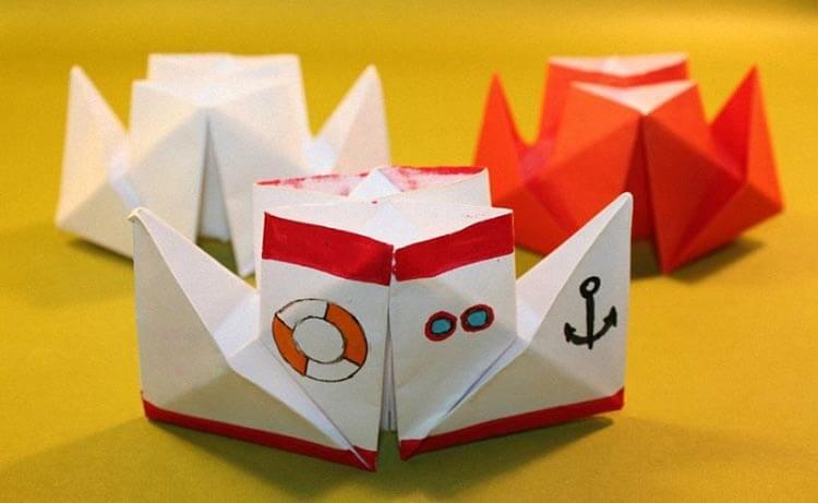 Кораблик для детей: различные способы создания со схемами и описанием korabl svoimi rukami 2
